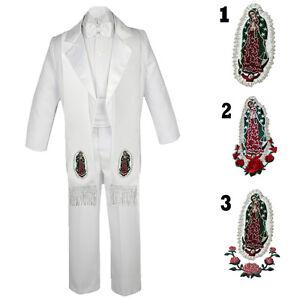 4ea0a9f16 Baby Boys Teens Baptism Communion Wedding Formal Bow tie Tuxedo Suit ...