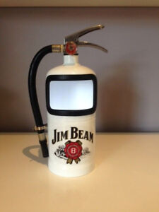 BLACK Jack Daniels Fire Extinguisher Display Case Man Cave FATHERS DAY GIFT