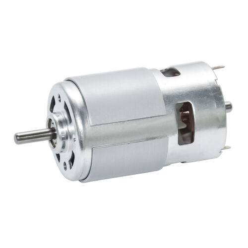 DIY Small Permanent Magnet Electric DC 12V Brush DC Motor 5500 RPM High Speed