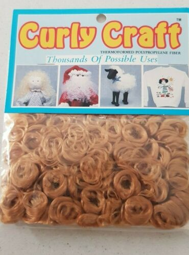 curly craft fiber hair decoation-easter-chritmas-tails doll hair toy wigs