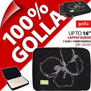 Golla-16-pour-15-6-034-15-4-034-Ordinateur-Portable-Noir-Sacoche-rembourre