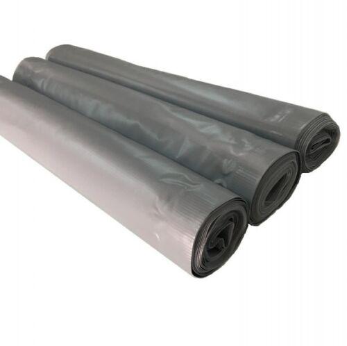 PVC Balkon Sichtschutz Sichtschutzfolie grau 6x0,9m Balkonabdeckung