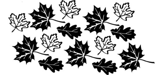 Leaves Fall Autumn Wall Stickers Vinyl Decals Decor Art