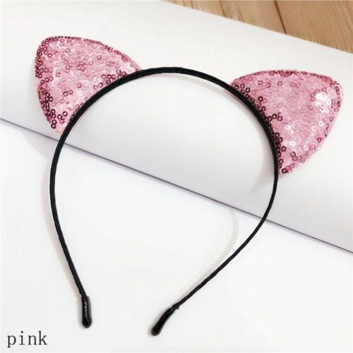 cabeza aro Diadema con orejas de gato Accesorios para el cabello Cosplay prop