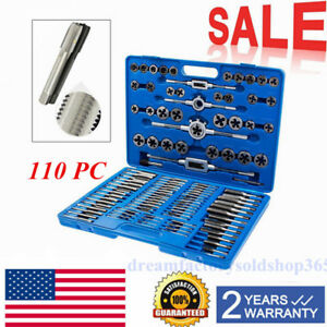 41 Piece Tap /& Die Set NC NF Complete Combination Set Made In Japan