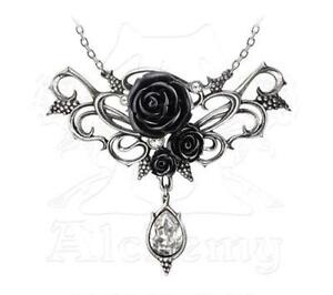 Bacchanal-Rose-Statement-Necklace-Alchemy-Gothic-039-Wine-and-Roses-039-Jewellery-P700