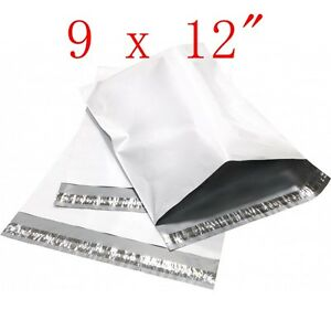 9 x 12 poly mailers shipping envelope plastic bags for 10x13 window envelope