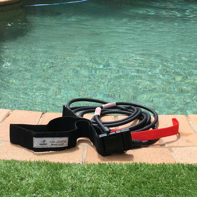 Eyeline Swim Exerciser Belt and Tether 400cm SE260