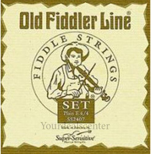 New Old Fiddler Line  Violin D String 4/4