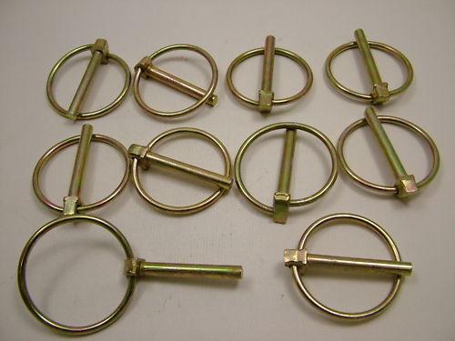 Lynch Pin Clips Klappsplinte 6 x 44mm Pack 10