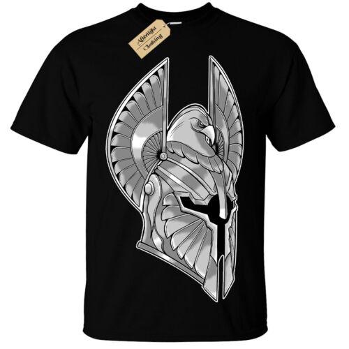 Enfants Garçons Filles Full Armor T-shirt Spartiate Casque Guerrier Chevalier