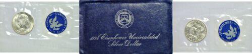 1974-S $1 40/% Silver Eisenhower Dollar Uncirculated Original Mint Envelope