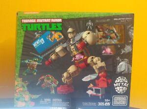 Mega Bloks Teenage Mutant Ninja Turtles Collectors Krang/'s Rampage TMNT Leonardo