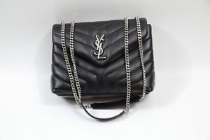 196 YSL Yves Saint Laurent Small Loulou Matelassé Leather Shoulder ... 6f32b12cde3e6