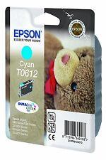 ORIGINALI Epson t0612 c13t06124010 inchiostro ciano d68 d88 dx3800 dx4200 MHD 06/2017
