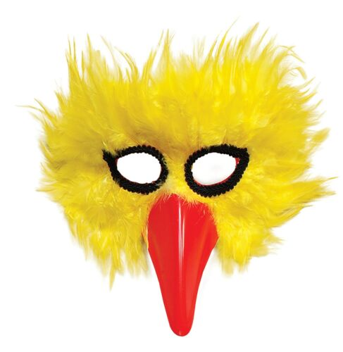 Yellow Bird Mask Fancy Dress Animals /& Nature Accessory