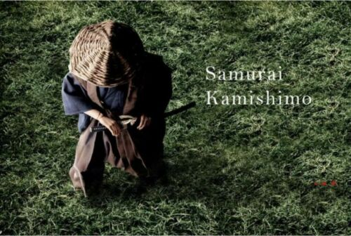 1//6 Japanese samurai kamishimo costumes ronin finery suit for hot toys ❶USA❶