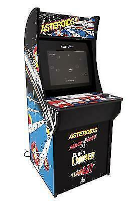 Groovy Arcade1Up Asteroids Arcade Game Cabinet Machine 4Ft For Sale Online Ebay Download Free Architecture Designs Remcamadebymaigaardcom