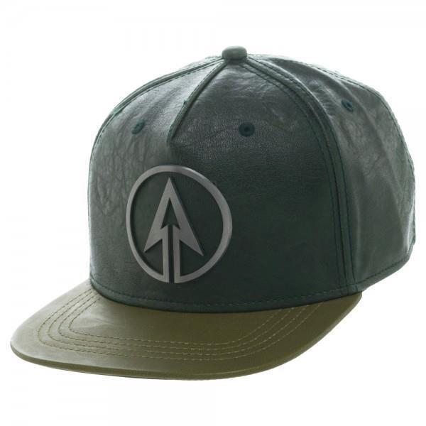 DC Comics Licensed Green ARROW TV Show Logo BASEBALL CAP Adjustable SnapBack O/S
