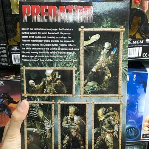 Predator Jungle Hunter Figura de acción NECA Classic Movie Figures Ultimate