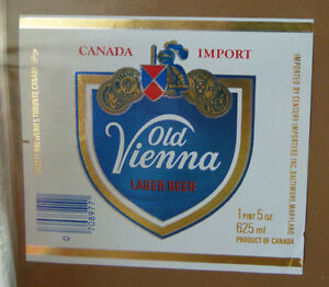 VINTAGE-CANADIAN-BEER-LABEL-O-039-KEEFE-OTTAWA-OLD-VIENNA-LAGER-625ML