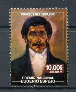 Ecuador-2017-Gomma-integra-non-linguellato-Eugenio-Espejo-1v-Set-personaggi-famosi-scrittori