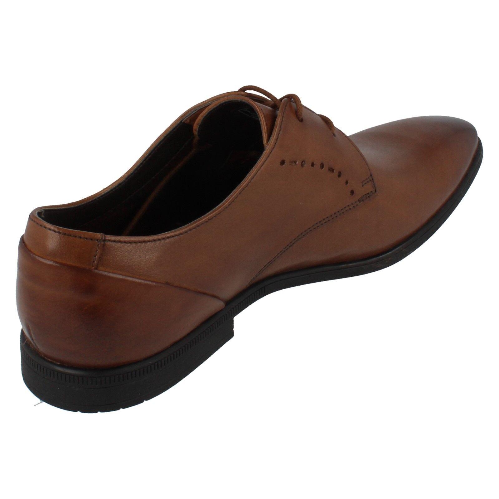 Herren Clarks Leder Spitze Oben Spitze Schuhe Bampton Spitze