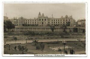 POSTCARD-SHIPPING-PERU-LIMA-RP. Palacio de Gobierno.