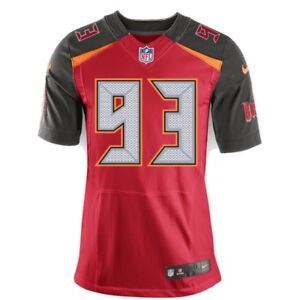 brand new e6f1e f533b Details about Buccaneers Gerald McCoy Elite Jersey Size 48