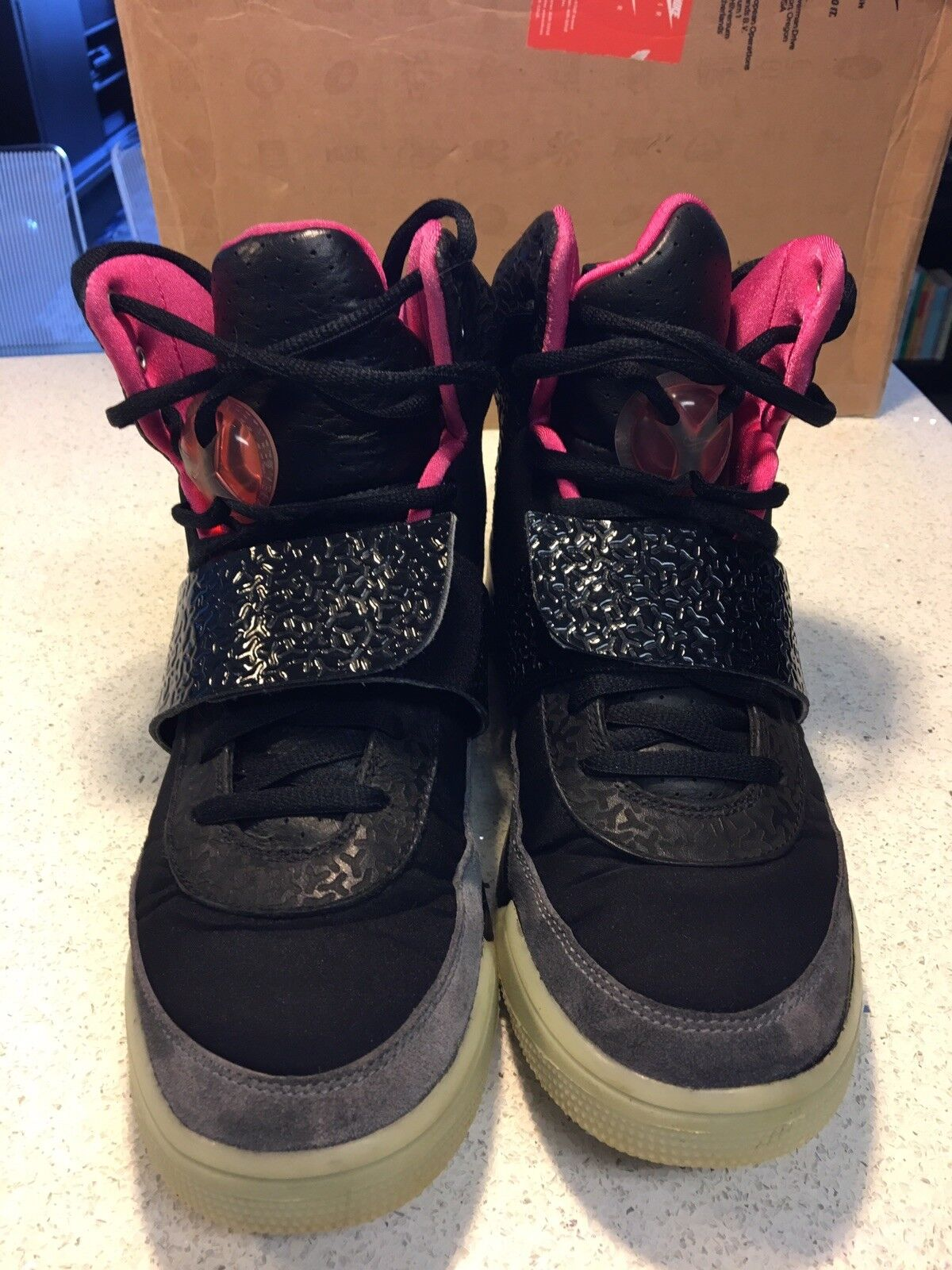 Nike Air Yeezy 1 Blink Sz 9.5 Black/Pink 100% Authentic NDS Cheap and beautiful fashion