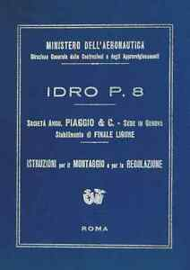 AIRCRAFT-AERONAUTICA-Piaggio-P8-Ter-Idro-1928-Manual-DVD