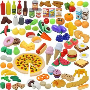 Play Food Set 135 Pieces Kitchen Pretend Playset Kids Toys Ebay