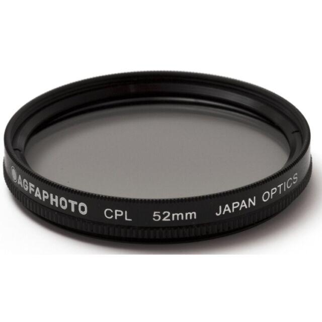 """AGFA Circular Polarizing Glass Filter (CPL), 52mm 52 APCPL52"""
