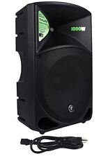 "Mackie Thump15 Thump-15 15"" 1000 Watt Active Powered DJ PA Speaker, Class D New"