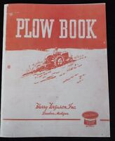 Harry Ferguson Ford Dearbon Plow Book 3pt Hitch Tractor Moldboard Plowing Manual