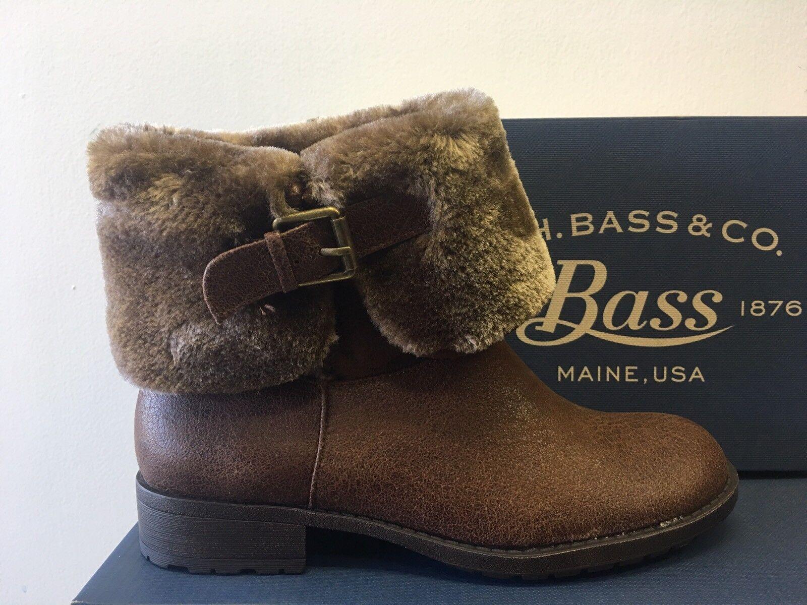 New - Women's G.H. Bass & Co. Bass - Alexis Brown Boots Size 10
