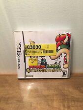 Mario & Luigi: Bowser's Inside Story (Nintendo DS, 2009) Complete