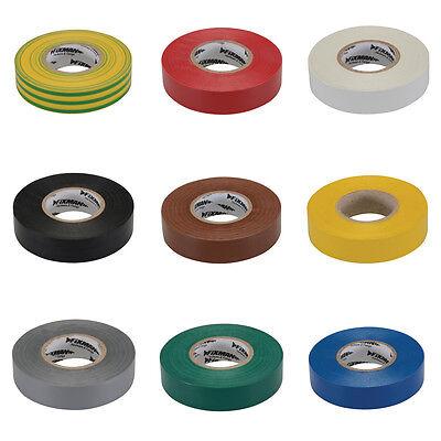 Isolierband,19 mmx33 m,Elektriker,Isoband,Klebeband,Kabelschutz,Kabelreparatur