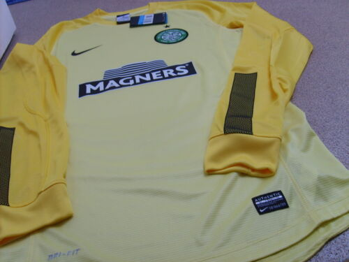 Genuine Nike Men/'s Celtic Home Goalkeeper Shirt 2013//2015
