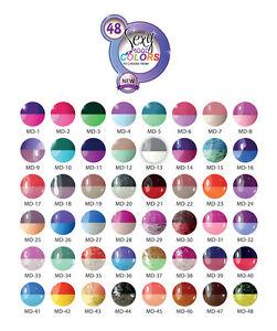 uv nails mood changing gel polish colors   set of 48 bottles limited