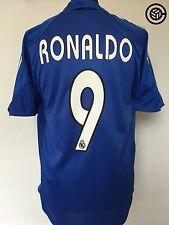 RONALDO #9 Real Madrid Adidas Third Football Shirt Jersey 2004/05 (M)