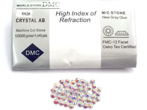1440 STRASS DMC QUALITY HOTFIX ss16//4mm CRYSTAL AB