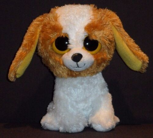 """NO HANG TAG 6/"""" COOKIE the DOG TY BEANIE BOOS"""