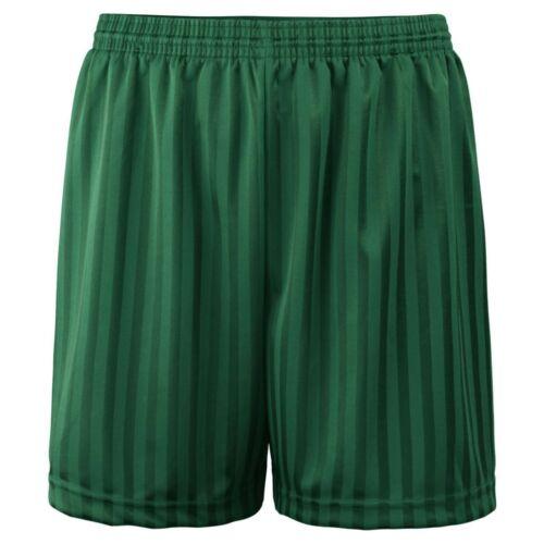 Kids PE Football Short Garçons Enfants Shadow Stripe Sports Soccer Shorts