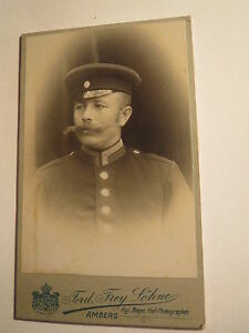 Amberg-Soldat-mit-Bart-in-Uniform-Portrait-CDV