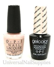 "Opi Soak-Off GelColor Gel Polish + Nail Polish ""Bubble Bath #GC S86"" .5 oz"