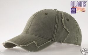 ATLANTIS-USA-HURRICANE-BASEBALL-CAP-ARMY-VINTAGE-DESTROYED-MILITARY-COTTON-HAT