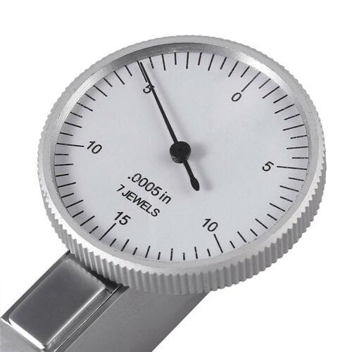 "Precision .030/"" Range Dial Test Indicator .0005/"" Graduation Reading 0-15-0 !"