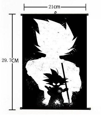 Hot Japan Anime Dragon Ball Z Kakarot Goku Home Decor Poster Wall Scroll FL820