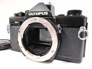 [Exc+++++] Olympus OM-2 Black 35mm SLR Film Camera Body OM 2 from JAPAN ✈Fast
